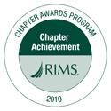 Chapter Achievement Award 2010