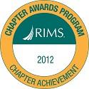 Chapter Achievement Award 2012