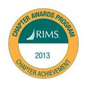 Chapter Achievement Award 2013